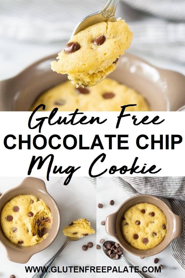 Chocolate Chip Mug Cookie Gluten Free Cookie In 5 Minutes